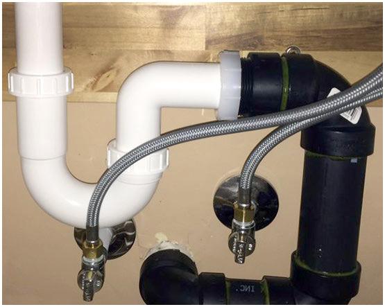 Kitchen Sink Plumbing in Cookridge
