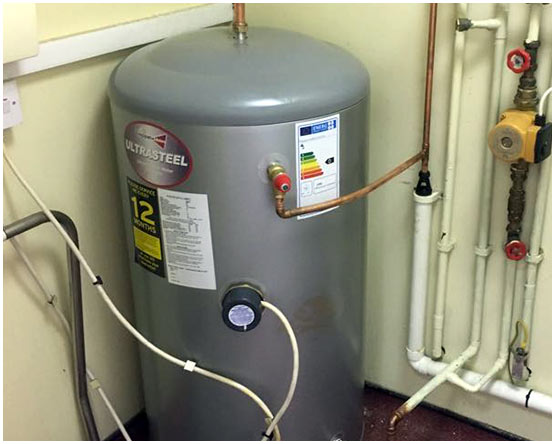 Unvented Water Cylinder Serviced in Cookridge
