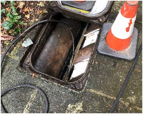 CCTV Drain Survey in Leeds